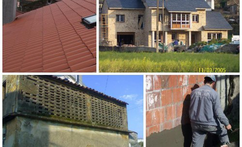 Algunos de los trabajos de Const. y Promociones : cubiertas, obra nueva, impermeabilizaciones , rehabilitaciones....