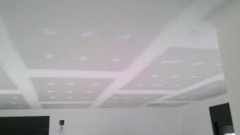 techo pladur comedor