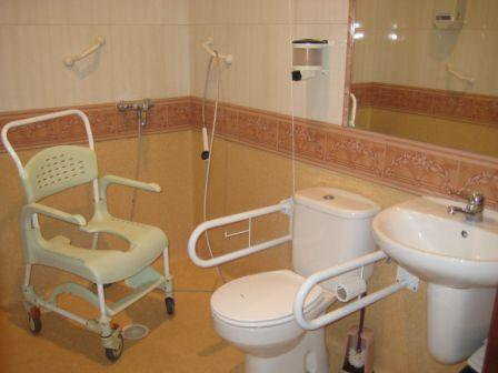 baño geriatrico