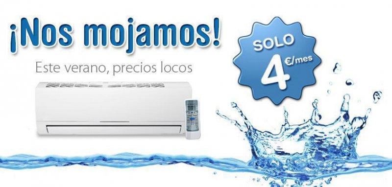 Mantenimiento de aire acondicionado por 4€ al mes