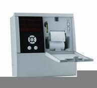 Registrador  de temperatuta  AKO , con 5 Canales de registro e impresora termica.