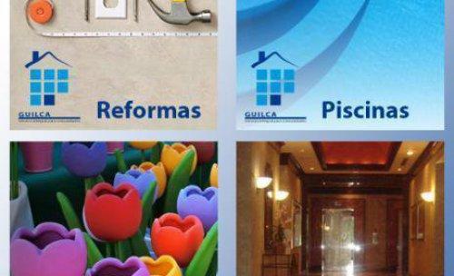 Limpieza, jardinería, piscinas y reformas para comunidades Guilca