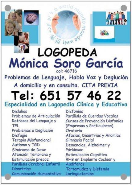 LOGOPEDIA CLÍNICA Y EDUCATIVA EN XÀTIVA