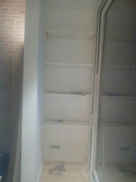 estanterias a medida interior armario