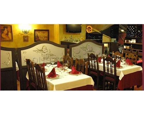 Restaurante para eventos con distintos ambientes