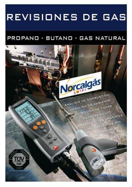 Revisiones de gas y certificados de alta pisos, comercios, caravanas
