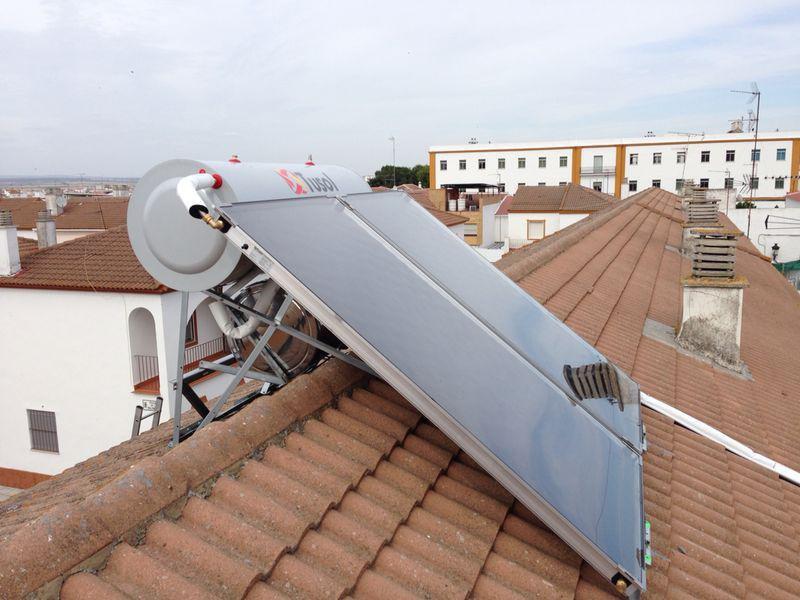 Instalación placa solar