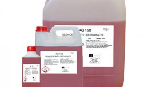 AG-150 Elimina óxidos y cal, desincrustante sarro, cal y óxidos.