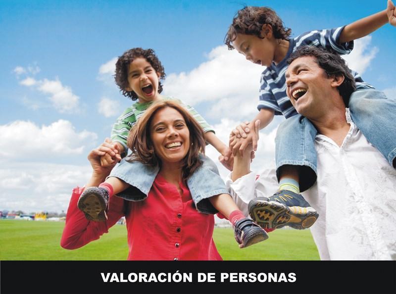 VALORACIÓN DE PERSONAS