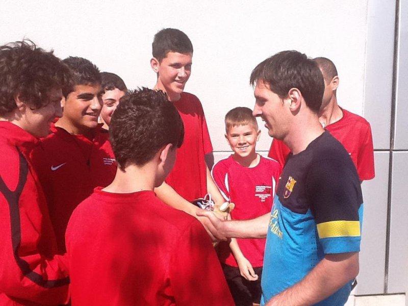 Conociendo a Leo Messi