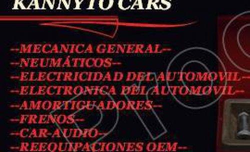 TALLERES KANNYTO CARS Talleres KANNYTO CARS. Servicio mecánica rápida, y general. Electricidad, Electrónica, Distribuciones, embragues, car audio, sistemas multimedia. Cualquier servicio que necesite, no dude en consultarnos. Atendemos Whatsapp