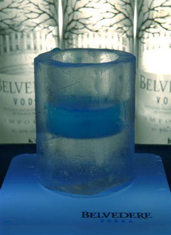 Chupito de hielo