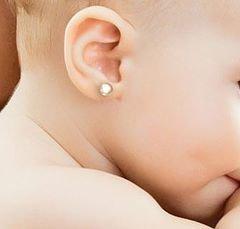 Perforación orejas bebes, niños y adultos