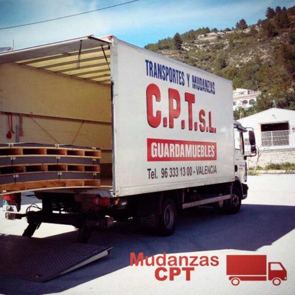 Camión Mudanzas Valencia CPT