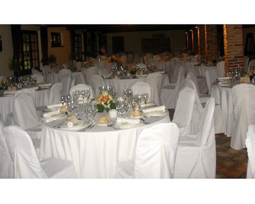 Banquete en blanco