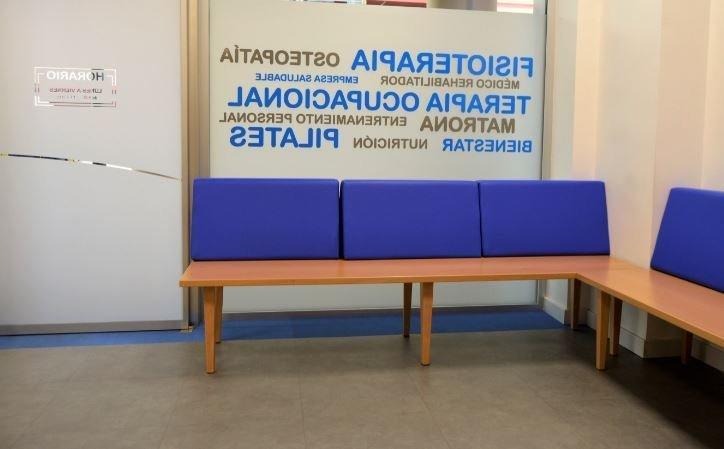 Sala de espera de ASERHCO