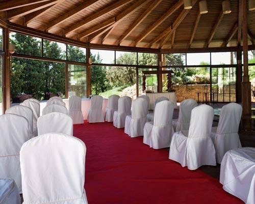 Ceremonia civil en el interior