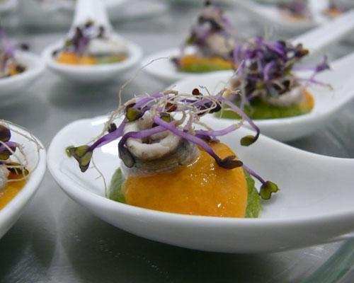 Increibles presentaciones de sus platos