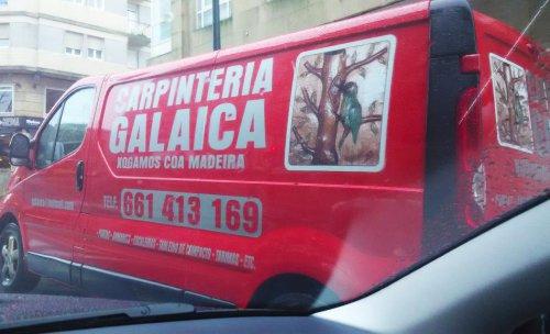 Carpintería Galaica, carpintería de madera a medida en Pontevedra