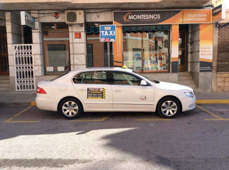 Radio taxi los montesinos