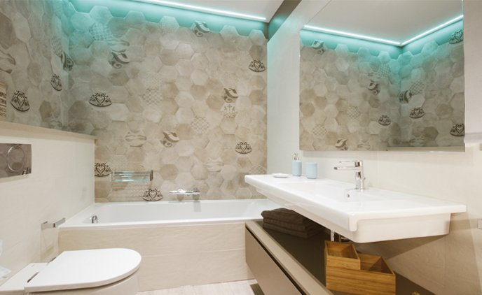 Exposición baño showroom