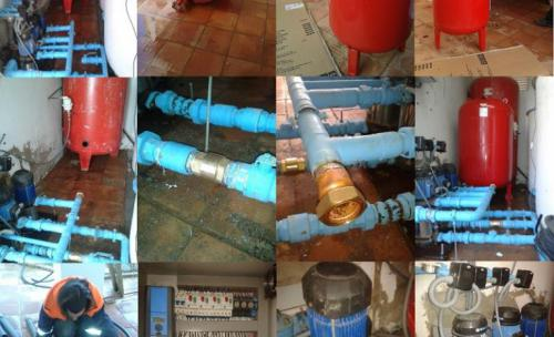reparacion grupo de bombas de presion de agua en La Antilla (Lepe) Huelva