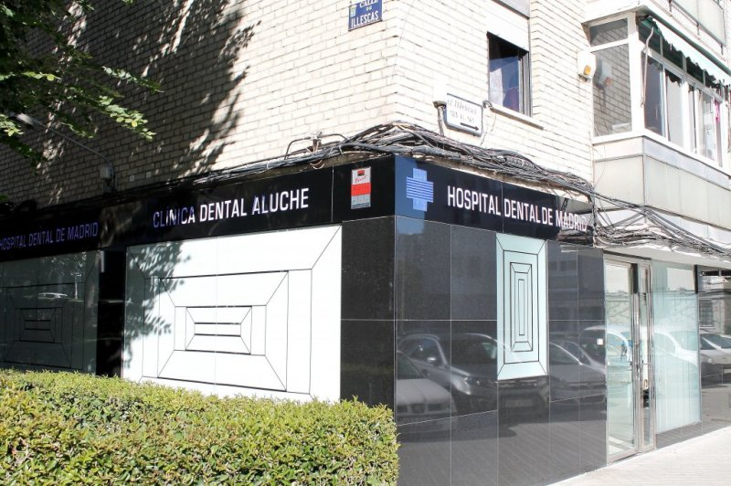 hospital dental madrid clinica aluche