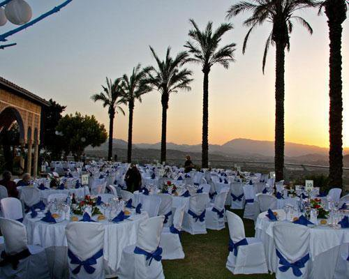 Celebraciones en terraza alhambra