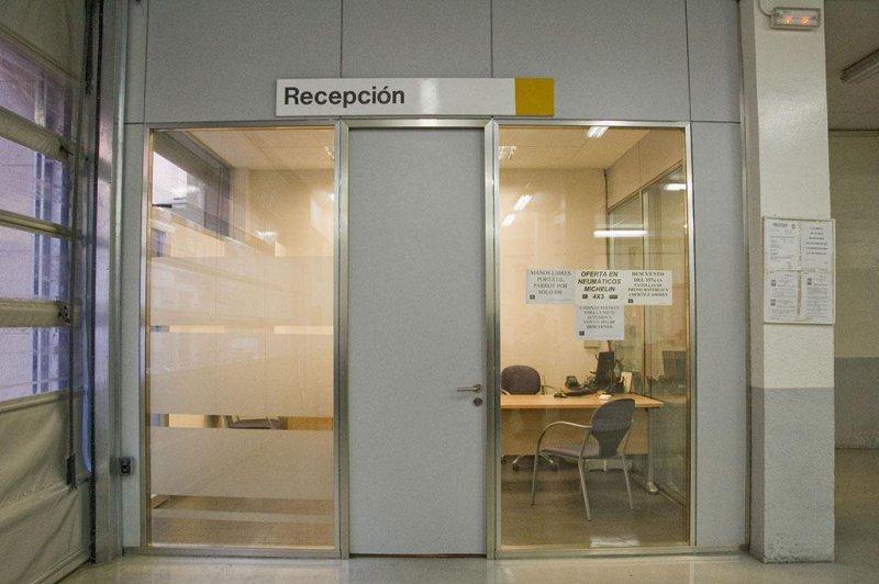 Oficina y sala de espera