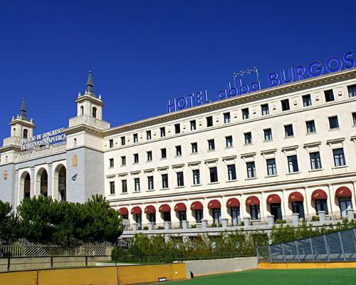 Espectacularfachada del hotel abba burgos antiguo seminario mayor de burgos