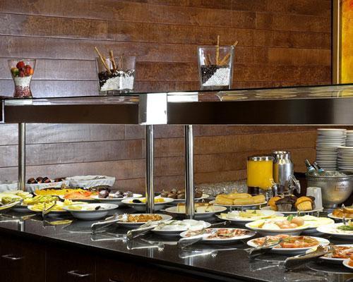 Detalle de buffet de desayuno