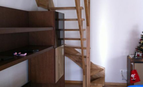 Conexión de piso con trastero