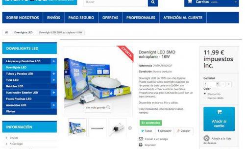 Tienda Online de Iluminación Led - Blancoled