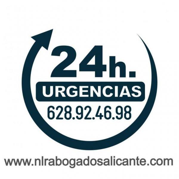 Abogados en Alicante Urgencias 24 horas