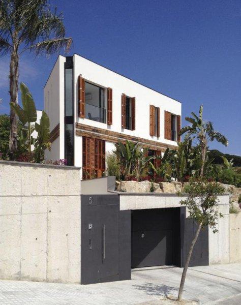 vista Exterior Casa A - 08023 Arquitectos - Barcelona