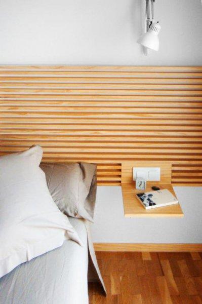 Detalle Cabecero - Casa Estudio PJ   08023 Arquitectos - Barcelona
