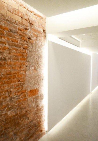 Muro ladrillo - Loft Barcelona   08023 Arquitectos