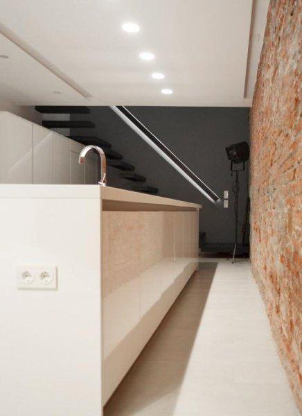 Cocina detalle - Loft Barcelona   08023 Arquitectos
