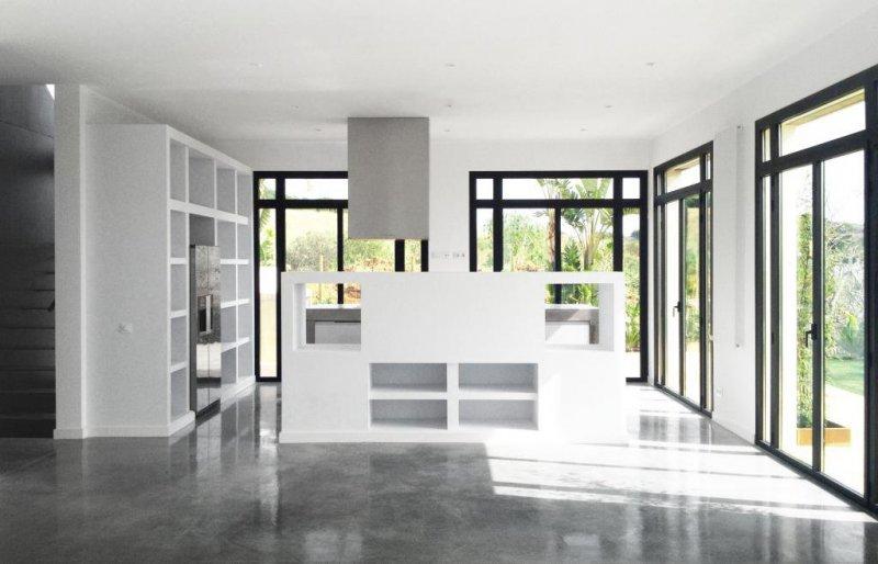 Salón Casa A - 08023 Arquitectos - Barcelona