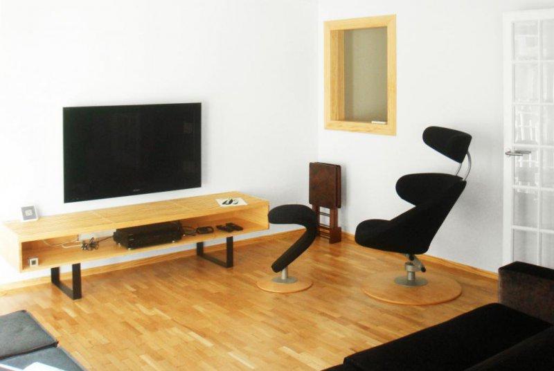Salón - Casa Estudio PJ   08023 Arquitectos - Barcelona