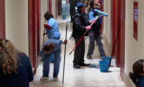 Brigada de limpieza fin de obra