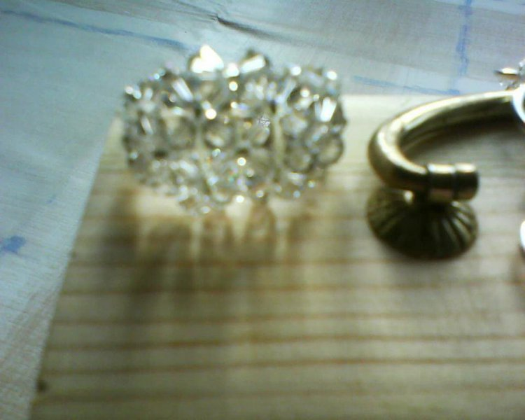 Pendiente la Perla de Cristal