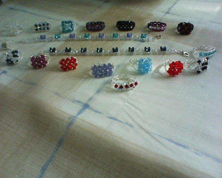Diferente diseños de anillos