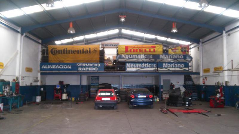 Neumáticos Mariano, neumáticos y mecánica rápida en Málaga