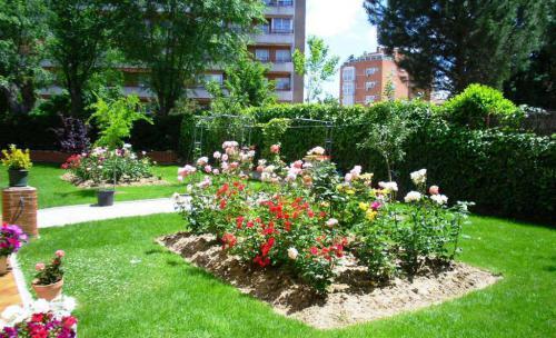 Jardines residencia ancianos Madrid 91 3130954