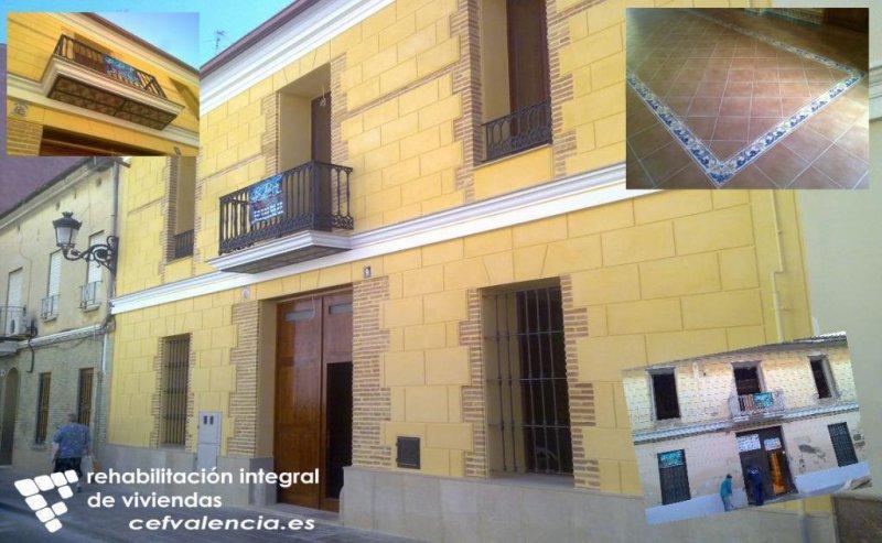 Rehabilitación casas antiguas en Valencia