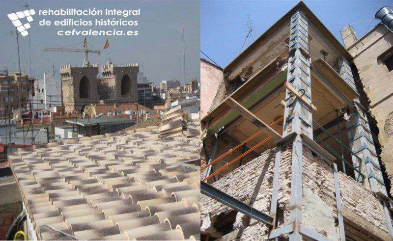 Refuerzos estructurales y rehabilitación integral de edificios en Valencia
