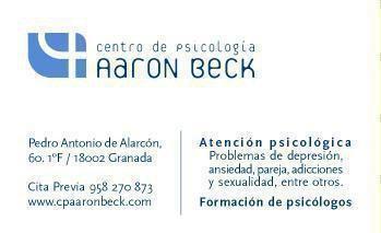 Tarjeta de visita - Centro de Psicología AARON BECK