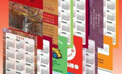 Calendarios de bolsillo