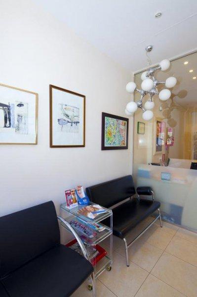 Recepción en Clínica Dental Infante Don Luis